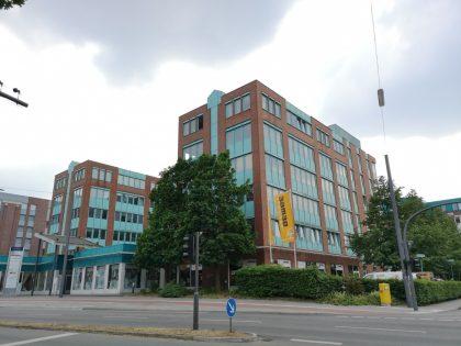 Büro- und Geschäftshaus Hamburg Bahrenfeld, Fläche von ca. 8.592 m²
